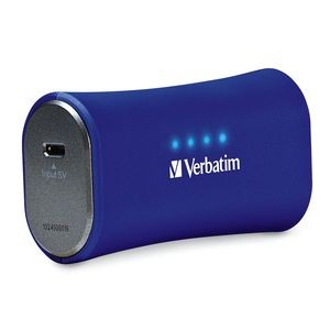 Portable Power Pack Charger (2200mAH) USB, Navy Blue USB, Navy Blue