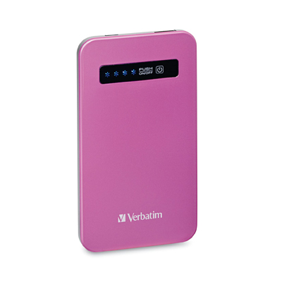 Ultra Slim Power Pack (4200mAh) - Pink