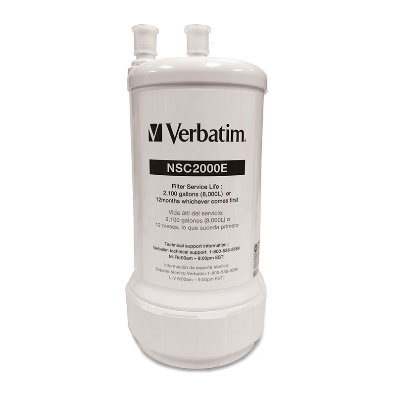 Verbatim, Water Filtration System,Under-sink kit, Replacement Filter