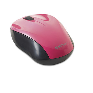 Nano Wireless Notebook Optical Mouse - Pink