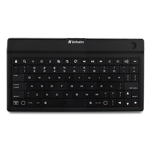 Ultra-Slim Bluetooth Wireless Mobile Keyboard - Black