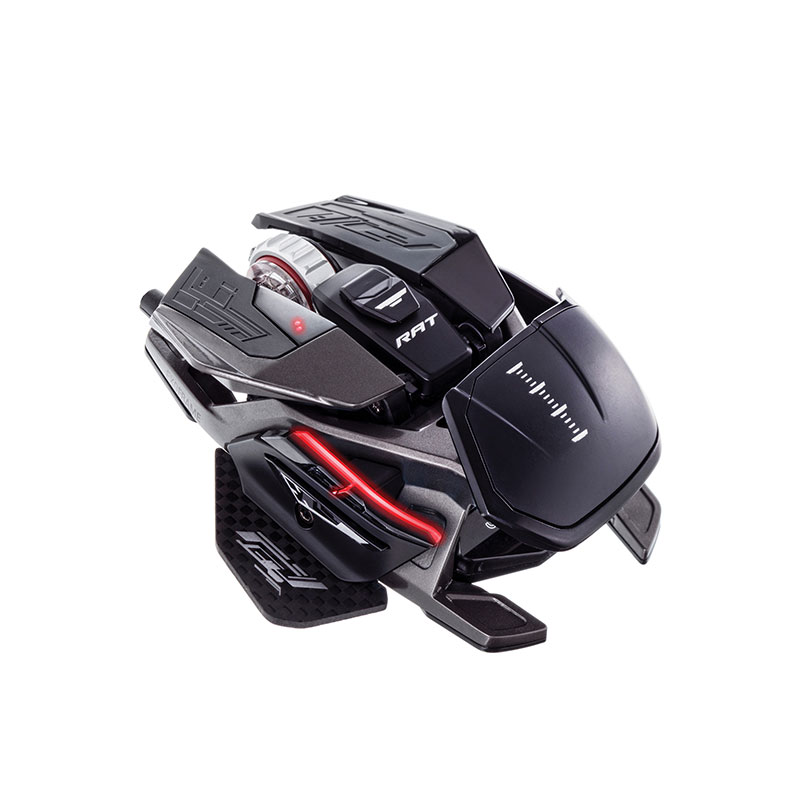 Mad Catz, The Authentic R.A.T. PRO X3Gaming Mouse, Black