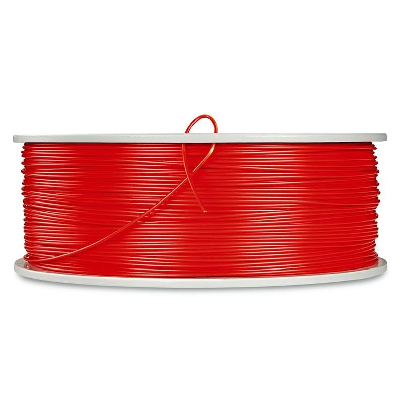 Verbatim, ABS 3D Filament 1.75mm, 550031kg Reel, Red