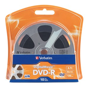 DigitalMovie™ DVD-R 4.7GB 8X 10pk Blister